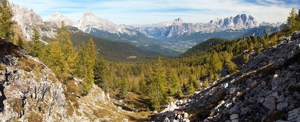 Le Tofane Gruppe and Hohe Gaisl, Dolomiti, Italy