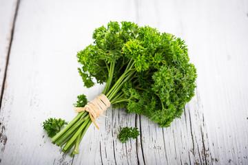 Fresh organic parsley