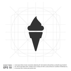 Cone Ice Cream Icon