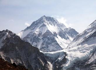 Mount Changtse, Tibetan mount near mt. Everest, Nepal