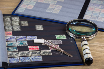 Znaczki pocztowe, kolekcja
