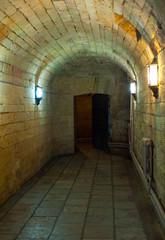 Dark spooky corridor
