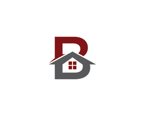 Letter B and Real Estate Logo 1