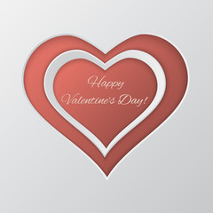 Valentine`s day vector background