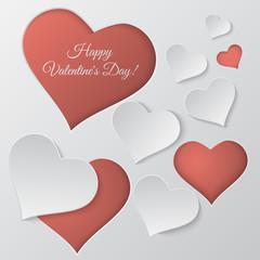 Valentine`s day vector background