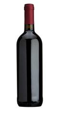 Weinflasche freigestellt