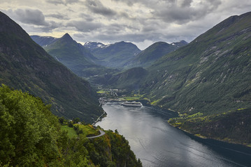 View of Geiranger Fiord, Norway