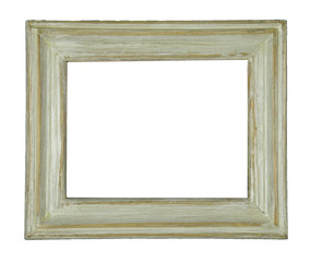 wood frame isolated