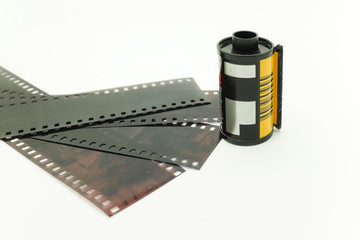 Film and negative roll