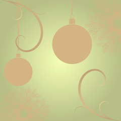 Retro Christmas background. Vector illustration