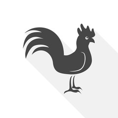 Rooster - vector Illustration
