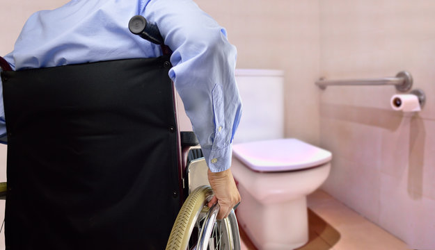 restroom for disability person