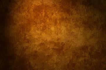 Braune grunge Hintergrund mit ungleichmäßiger Oberfläche