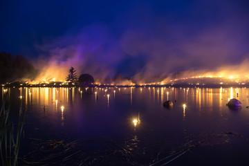 Burning horizon - Leigo Lake Music Festival