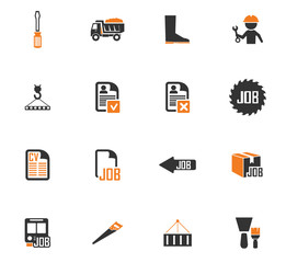 Job icons set