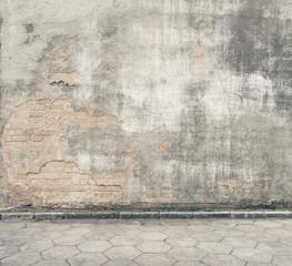 In de dag Graffiti Grunge wall background