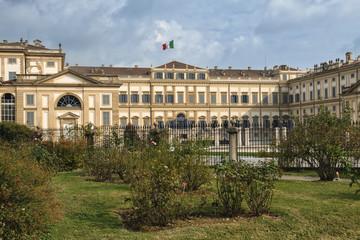 Monza (Italy): Royal Palace, the gardens