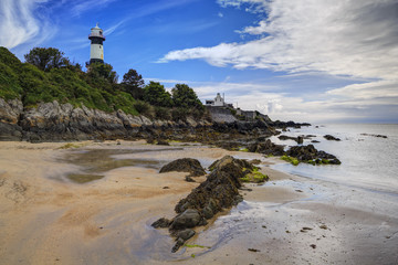 Inishowen Lighthouse, Inishowen, County Donegal, Ulster, Republic of Ireland, Europe
