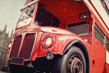 London Routemaster double decker red bus