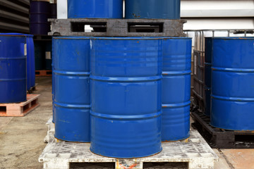 Liquid Chemical tanks .