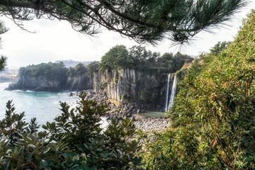 Jeongbang waterfall