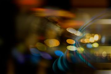 Fotobehang - Blur image of light