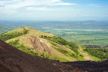 Photo sur Plexiglas Marron chocolat Volcano view ( Cerro Negro, Nicaragua )