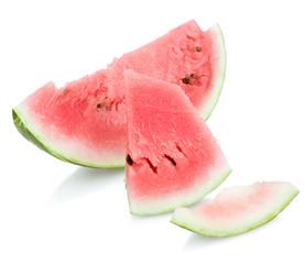 ripe juicy slice of watermelon