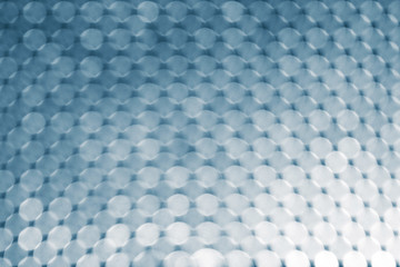 Abstract background, white and blue circles bokeh