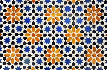 Azulejo de estrellas de estilo árabe