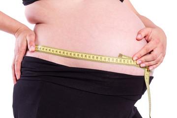 Schwangerschaft Bauch beim messen