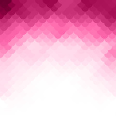 Abstract pink light template background