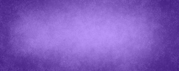 purple background paper design with vintage texture and soft white center light and darker vignette border