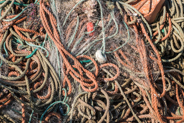 Portugal - Fishing lines in the harbor