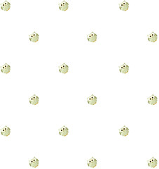 Cute Owls Seamless Pattern. Vector Illustration.