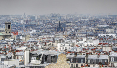 Panorama of Paris