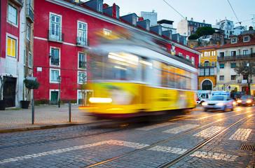 Lisbon tram, Portugal