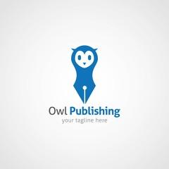 Owl Logo Design Vector.