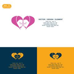 woman love logo