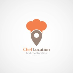 Chef Logo Design Vector.
