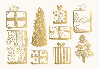 Holiday vector card