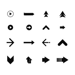 Set of Arrows Icon #5