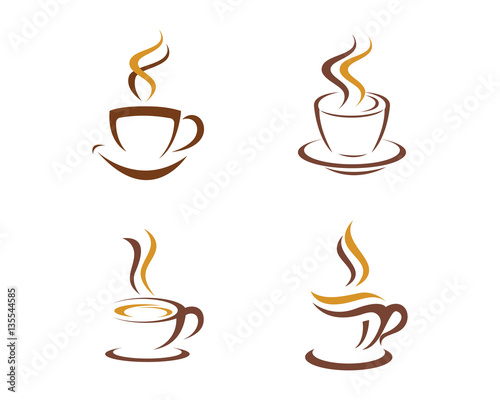 coffee cup logo template - photo #35