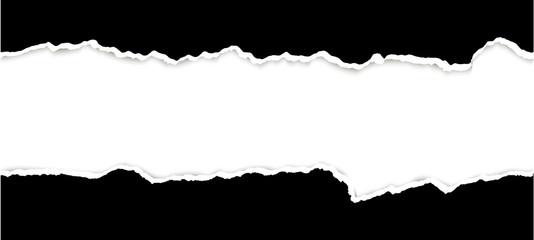 Obraz ripped open paper - fototapety do salonu