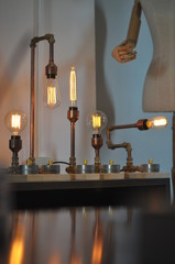 Collection of Vintage filament bulb