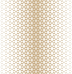 Abstract sacred geometry golden grid halftone cubes pattern