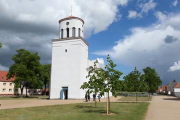 Weiße Kirche Neuhardenberg