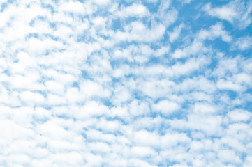 blue sky with cloud with background daylight,natural sky composition, element of design ,cloudy blue sky abstract background