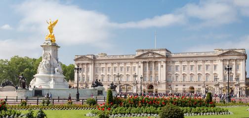 Buckingham Palace et mémorial Reine Victoria