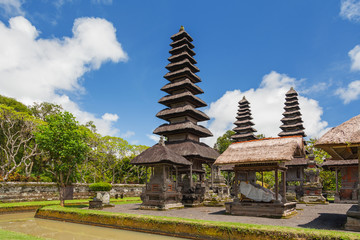 Taman Ayun Temple, a royal temple of Mengwi Empire located in Mengwi, Badung regency that is famous places of interest in Bali. Indonesia.